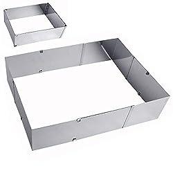 ORION baking frame rectangular adjustable baking pan cake pan flexible cake pan