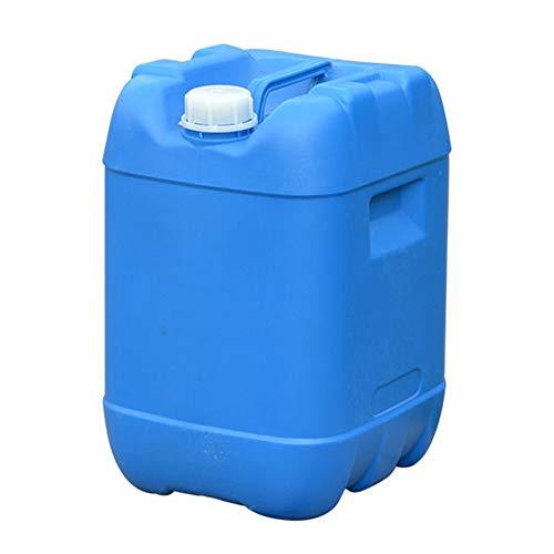 MNSSRN Grado Alimenticio Espesado plástico Cubo, Cubo de apilamiento 25 L Resistente de Protección Ambiental antioxidante del Tanque de Agua, Grado Alimenticio Cubo con Tapa,25L/Blue