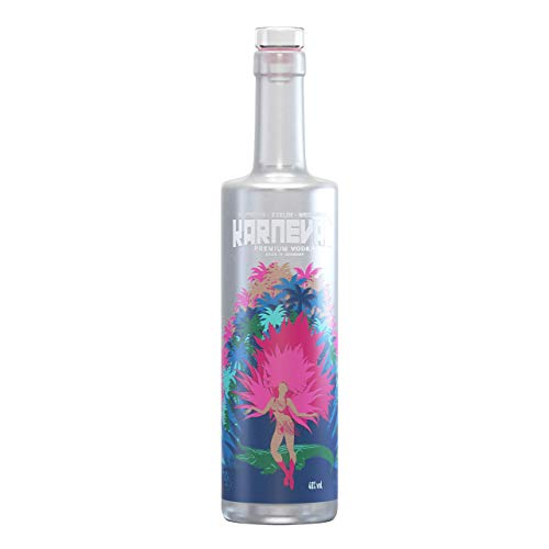 KARNEVAL VODKA Premium Wodka Made in Germany 40% vol. (1 x 0.5 l)