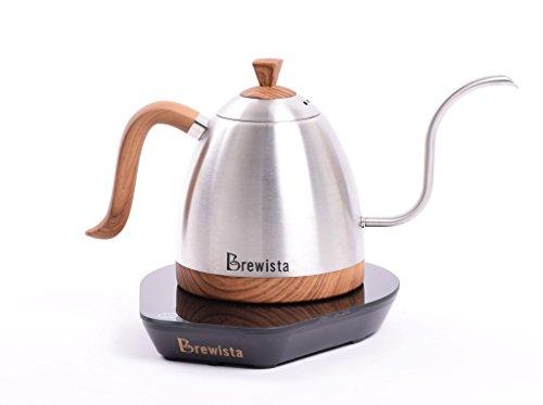 Brewista BA6VKETLS Artisan グースネック 可変ケトル 600ml ステンレススチール