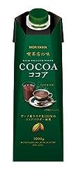 守山乳業 喫茶店の味 ココア1000g ×6本