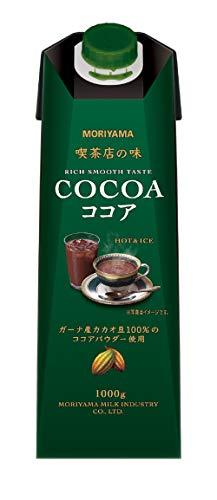 守山乳業 喫茶店の味 ココア 1000g×6本