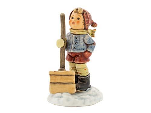 M.I.Hummel Hum 2036/I Hoffentlich schneit's Bald Wieder Figuren, Keramik, Mehrfarbig, One Size