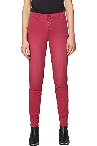 edc by Esprit 029CC1B017 Pantaln, 615/Cherry Red, 34 W/32 L para Mujer