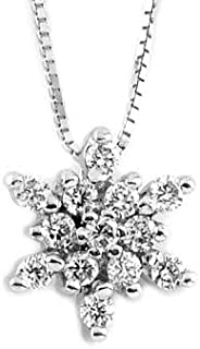 Gems&Gold srl Pendente Con Diamanti Incastonati 0,32 Ct