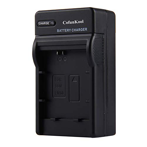 NP-FW50 Camera Battery Charger for Sony A6000 A6300 A6500 A5100 A5000 RX10II RX10III A7RII A7 A7R A7S A7SII A7II A33 A55 NEX-5C ILCE-QX1