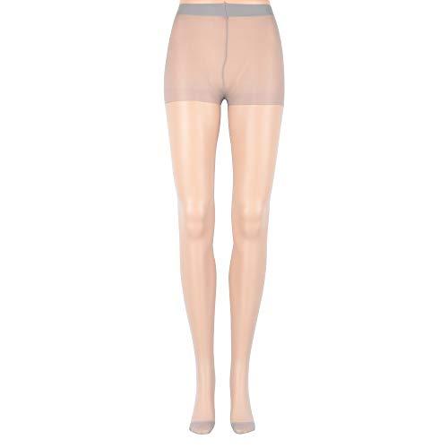 Ykstzqdl Medias de Ropa Interior Pantimedias Calcetines Sexy de Mujer Caliente (Color : Grey)