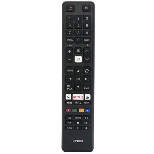 Vinabty CT-8053 se Adapta al Control Remoto Toshiba 48U7653DB 65U6663 55U6663 55U7653 55U6763 Smart 4K UHD LED TV