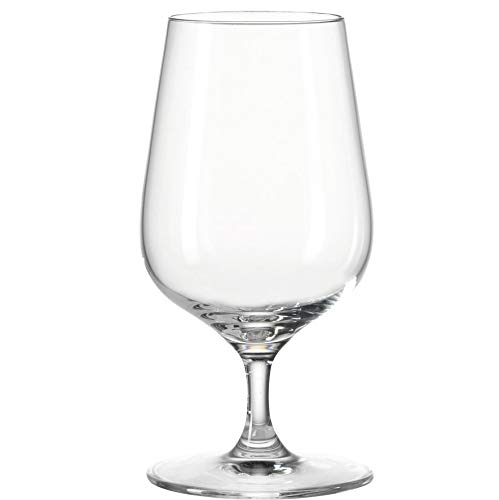 Leonardo Tivoli Wasser-Glas, Saft-Gläser mit Stiel, spülmaschinenfeste Trink-Gläser, 6er Set, 300 ml, 020967