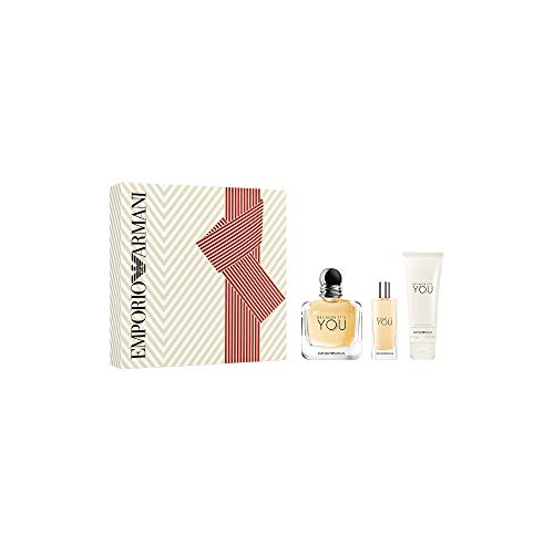 Giorgio Armani Armani Because It's You Eau de Parfum 100 ml + Eau de Parfum 15 ml + Leche Corporal 75 ml - 190 ml