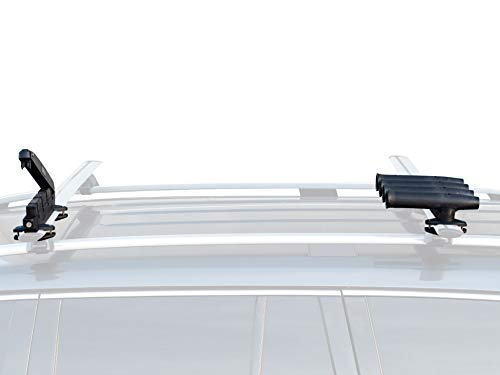 GEAR RAK Low Profile Fishing Rod Transportation System for Car & SUV roof Racks