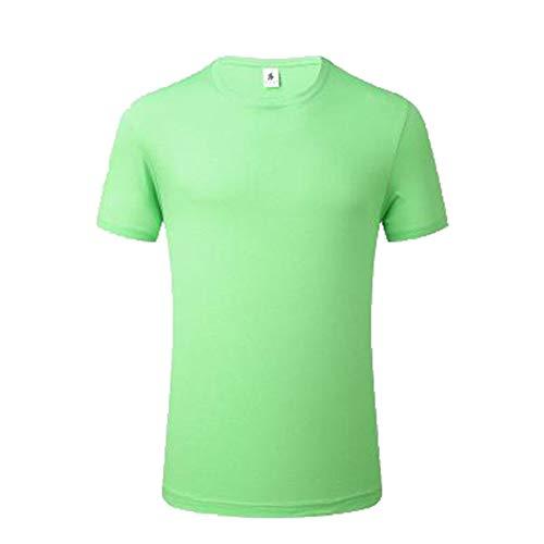 Mr.BaoLong&Miss.GO T-Shirt en Coton à Col Rond pour Hommes Sweat-Shirt pour Hommes De Grande Taille T-Shirt Confortable Les Hauts Haut De Gamme pour Hommes Peuvent être Logo Personnalisé
