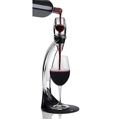 N / C Carafe à vin élégante et créative, Faite de matériaux durables et d'acrylique, Facile à Assembler et à Nettoyer, adaptée aux Pique-niques et barbecues