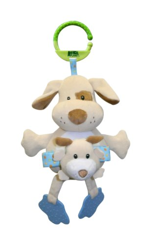 Animal Planet Mommies & Babies Rattle Stroller Toy (Pup)