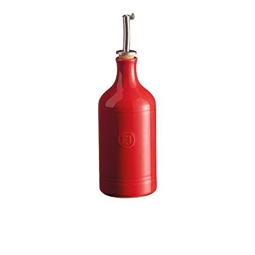Emile Henry Öl-oder Essigspender, Keramik, Rot, 7.5 cm