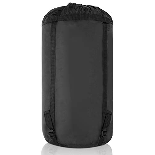 YINXN Compression Stuff Sack, 46 L Sleeping Bags Storage Stuff Sack Organizer Water Resistant Camping Hiking Backpacking for Travel