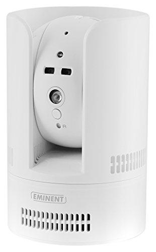 Eminent em6275 IP Binnen en buiten witte behuizing – bewakingscamera (IP-camera, binnen en buiten, box, bekabeld en draadloos, microSD-transflitser, wit)