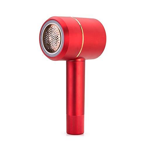 JenLn Trimmer de Pelota de Pelo Ropa Recargable Ashave Swaver Secador de Pelo Secador de Pelo Retiro Artefacto Rojo Afeitadora de Tela para Ropa (Color : Red, Size : 21x10x8cm)