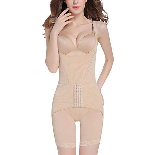 Guiran Mujer Bodysuit De Cintura Underbust Shapewear Moldeadora Adelgazante Body Adelgazante Adelgazar Desnudo L