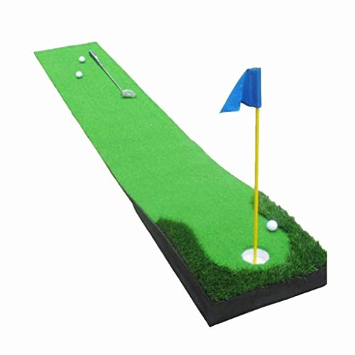 Find Bargain JIAJIANPING Indoor Golf Putting Green, Professional Golf Simulator 0.5mx3m (Color : A)
