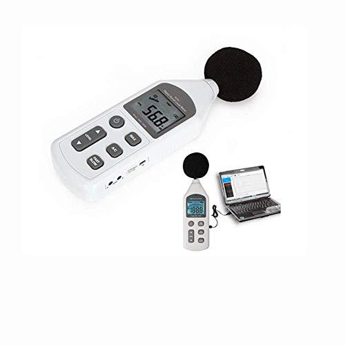 LONGWDS Medidor de decibeles La precisión del medidor de...