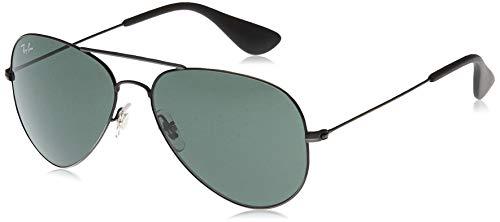 Ray-Ban 0RB3558 Montures de lunettes, Noir (Matte Black Antique), 58