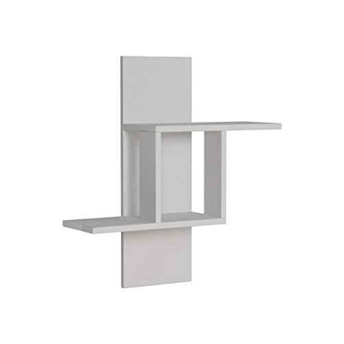 Ada Home Décor DCRW2131 Waverley - Soporte de Pared para televisor (25 x 28 x 8''), Color Blanco