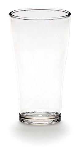 Euro Trail limonade Lot de 2/Verre à eau 440 ml plus voie Verre Verre Plastique