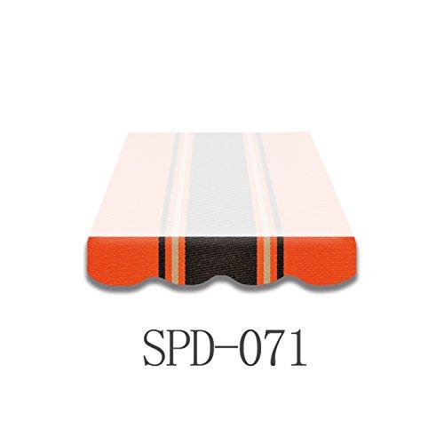 VANA 4m Markisenvolant Markisenstoff fertig genäht SPD071