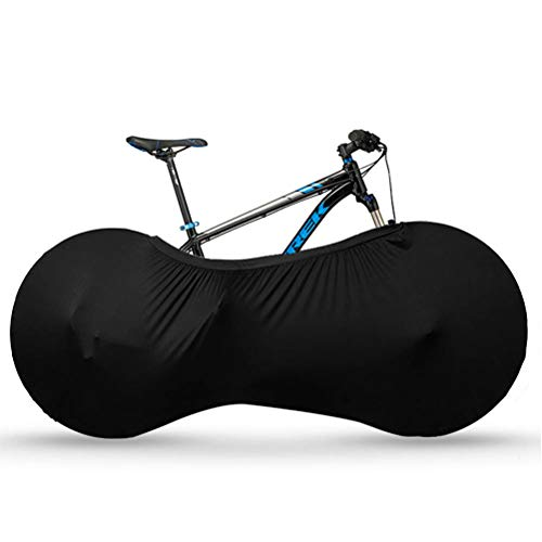 DODUOS Bike Cover, Bike Wheel Covers Indoor Storage, Bicycle Cover Stretchy Dirt Proof, Bike Storage Bag, Dust BikeWheel Cover, Anti Wind UV Travel Bicycle Protective Bag for Mountain Road Bikes
