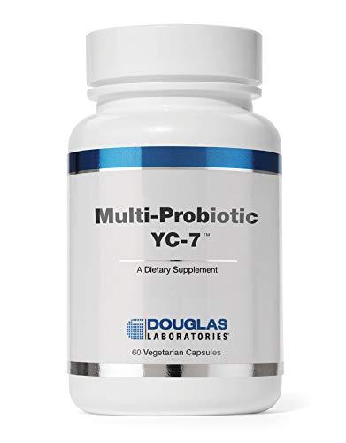 Douglas Laboratories - Multi-Probiotic YC-7 - Probiotics and Prebiotics for Women - 60 Capsules
