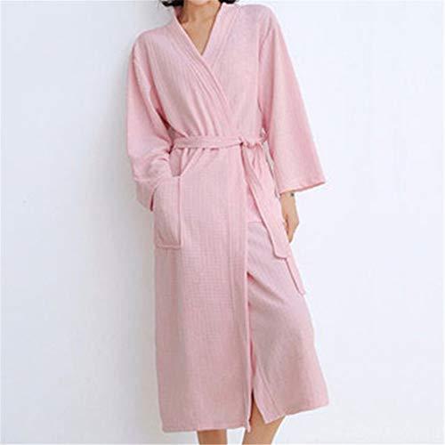 LVYI Lovers Badjas Vrouwen Lange Mannen Hotel Robe Ice Silk Pyjama Absoris Badjas