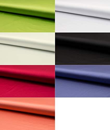 Fabrics-City KIWI SEIDIG STRETCHSATIN STRETCH SATIN STOFF SATINSTOFF STOFFE METERWARE, 4404