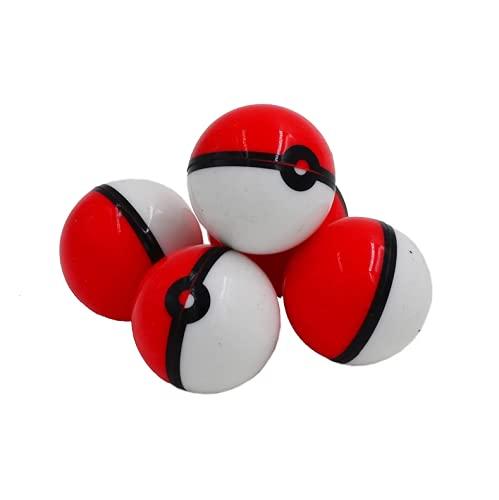{x2 Pack} Contenedor mini tarro de silicona antiadherente, Recipiente hermético Wax neutraliza olores ideal para guardar pasta de humo y aceites. 5ml (Pokeball)