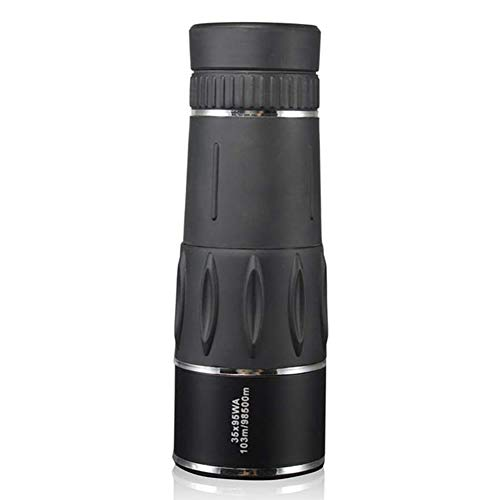 Amazing Deal GBBG High Magnification 35X95 Monocular Telescope, HD Low-Light Night Vision Mini Portable Zoom Telescope, Suitable for Bird Watching, Hunting, Camping, Travel,Black