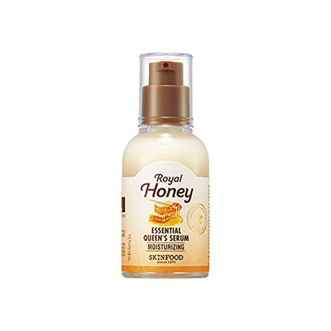 左一時停止研磨剤Skinfood Royal Honey Essential Queen's Serum/ロイヤルハニーエッセンシャルオイルクイーンズ血清/50ml [並行輸入品]
