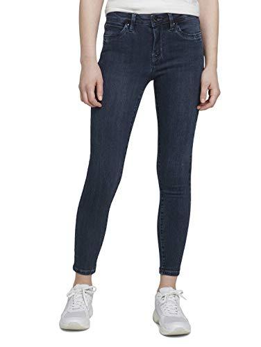 TOM TAILOR Denim Damen 1021150 NELA Extra Skinny Jeans, 10173-Dark Stone Blue Black, 31W / 32L