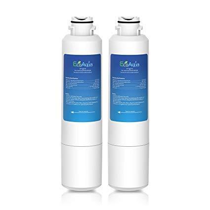 EcoAqua EFF-6027A Filtro per l'acqua del Frigorifero per Samsung DA29-00020B, HAF-CIN Exp, DA97-08006A-B, DA29-00019A, DA29-00020A, DA-97-08006A, 4609101000, 46-9101, 9101, HDX-FMS-2, REFSVC (2)