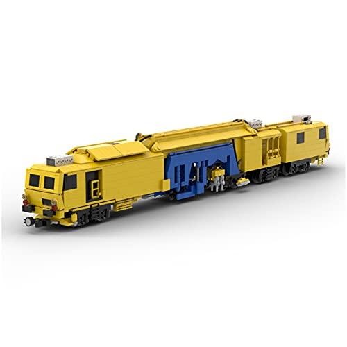 TARS Maqueta de construcción de ferrocarril Técnica 1402 piezas MOC-74857 vehiculos compatible con Lego Technik