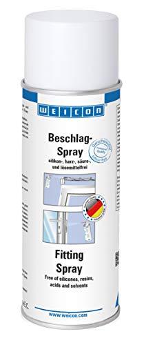 WEICON Beschlagspray 200 ml Schmieröl für Beschläge, Scharniere an Türen Fenster Garage Auto Schlösser uvm.