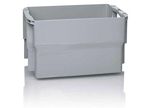 Postbehälter/Briefbehälter Typ 2 für Groß- und Maxibriefe, grau, 47 x 26,7 x 28 cm, 25 Liter Volumen
