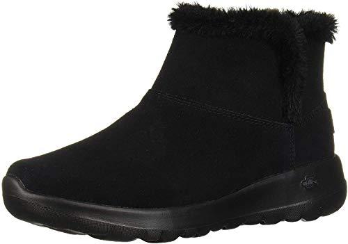 Skechers Women's ON-The-GO Joy-Bundle UP Ankle Boots, Black (Black Suede BBK), 5 UK 38 EU