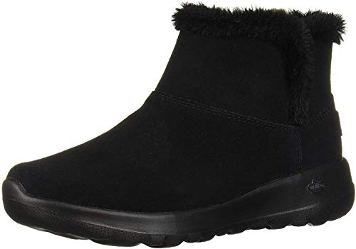 Skechers Women's ON-THE-GO JOY-BUNDLE UP Ankle boots, Black (Black Suede Bbk), 7 UK 40 EU