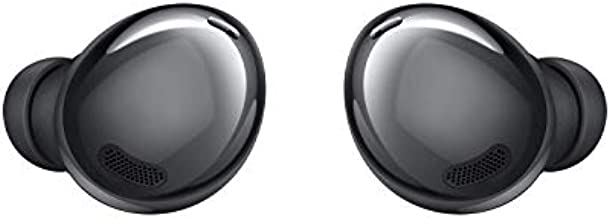 SAMSUNG Galaxy Buds Pro, Bluetooth Earbuds, True Wireless, Noise Cancelling, Charging Case, Quality Sound, Water Resistant, Phantom Black (US Version), 0.81 x 0.77 x 0.82 Inches