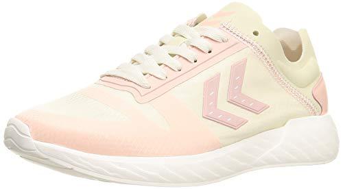 hummel Womens Minneapolis Legend Sneaker, Bone White,42 EU