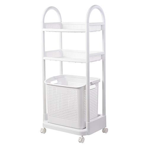 Panier de rangement Salle de Bain Design superposé Rouleau Mobile Design Receptor LITING (Size : Three Floors)