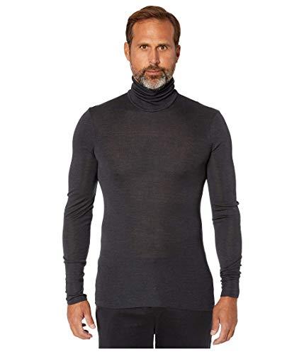 Hanro heren thermo-ondergoed, bovendeel Woolen Silk Rollkragenshirt