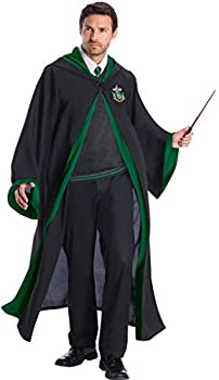 Charades Slytherin Student Adult Costume As Shown Large