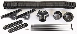 For Sale! JEGS Performance Products 70605 Defroster Kit Includes: