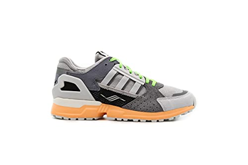Zapatillas para Hombre Adidas ZX 10.000 Color Grey/Cristal White/Orange Talla 42 2/3